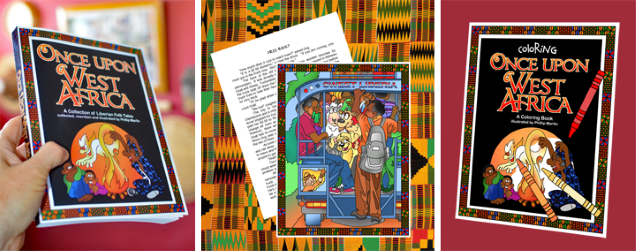 Once Upon West Africa - Book and Coloring Book