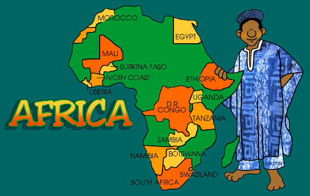 africa map information